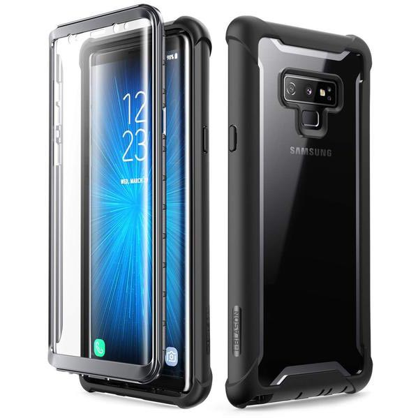 Get the latest ARES FULL-BODY RUGGED CLEAR CASE FOR GALAXY NOTE 9 - BLACK/CLEAR FROM I-BLASON with free shipping online.
