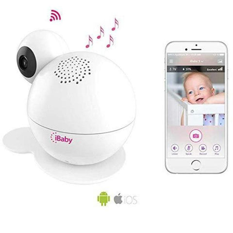 Place to buy IBABY CARE M7 LITE WIFI BABY MONITOR FOR IOS & ANDROID FROM IBABY online in Australia free shipping & afterpay.