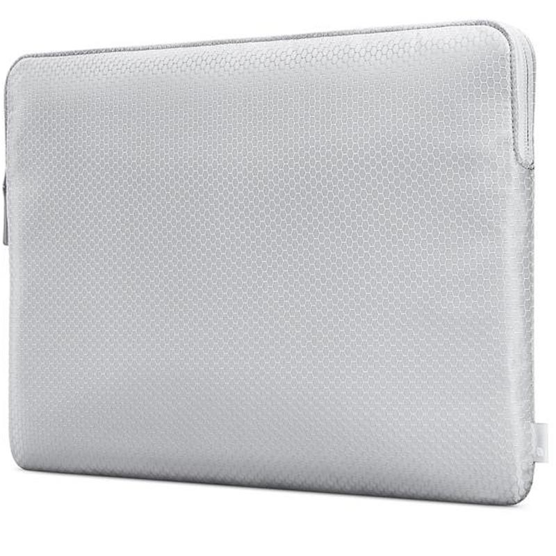 INCASE SLIM SLEEVE IN HONEYCOMB RIPSTOP FOR MACBOOK PRO 13 INCH - SILVER Australia Stock