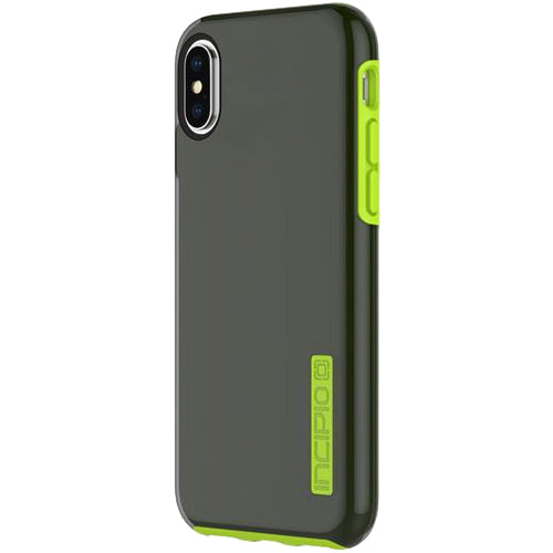 INCIPIO DUALPRO PROTECTIVE CASE FOR IPHONE XS/X - SMOKE/VOLT Australia Stock