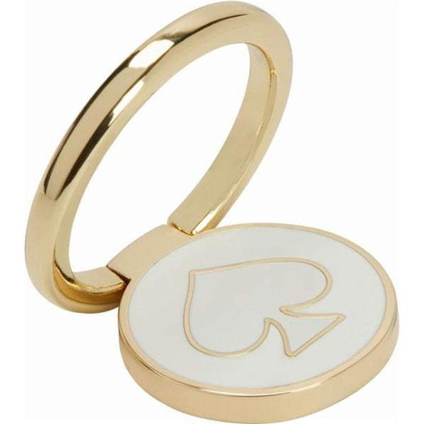 incipio kate spade new york stability ring gold and cream enamel color