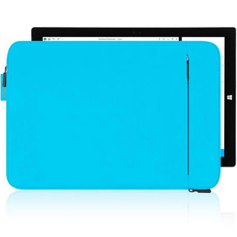 INCIPIO ORD SLEEVE PROTECTIVE PADDED SLEEVE FOR NEW SURFACE PRO / PRO 4 / PRO 3 CYAN colour
