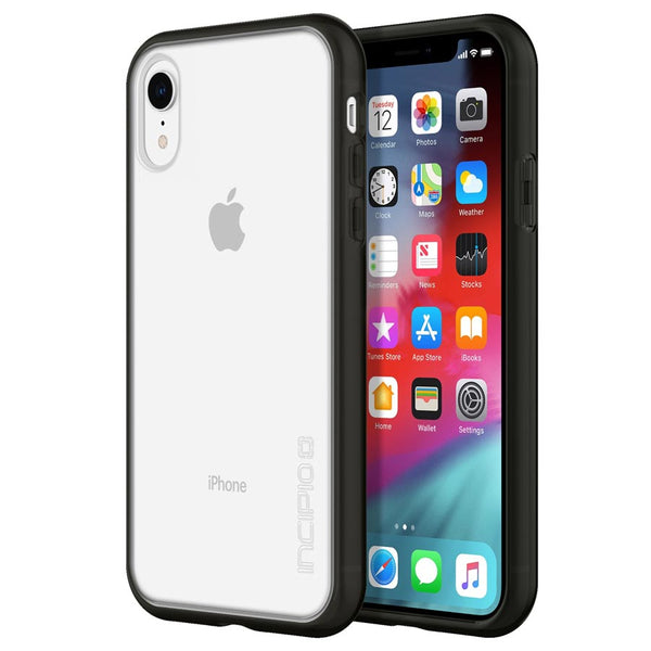 drop protection case for iphone xr black colour from incipio