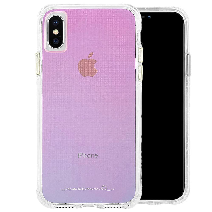 iPhone Xs & iPhone X Pink Casemate case Transparent with free shipping & Afterpay Australia Stock