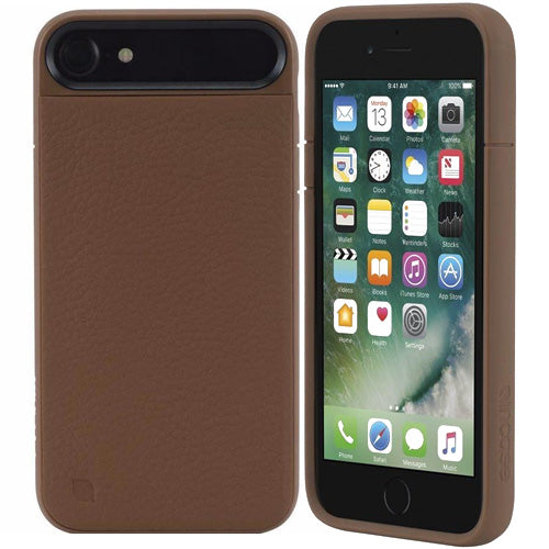 Place to shop and buy genuine Incase Icon II Pebbled Leather TENSAERLITE Case for iPhone 8/iPhone 7 - Brown. Free express shipping Australia wide only on Syntricate.