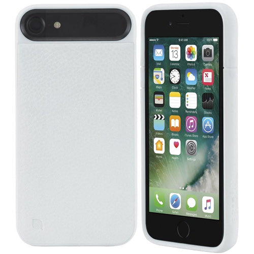 Place to buy genuine and original products from Incase Icon II Pebbled Leather TENSAERLITE Case for iPhone 8/7 - White. Free express shipping Australia wide only on Syntricate.