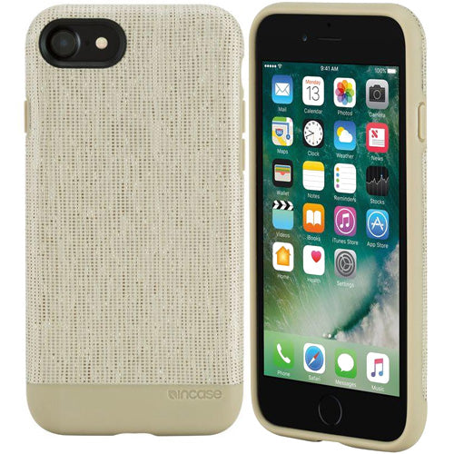 Place to order from authorized distributor Incase Textured Snap Ecoya Wrap Case for iPhone 8/7 - Heather Khaki australia wide free express shipping from authorized distributor and trusted official online store Syntricate.