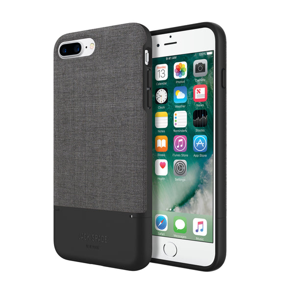 buy Jack Spade Color-Block Case for iPhone 8 Plus or 7 Plus - Black/Tech Oxford Gray australia