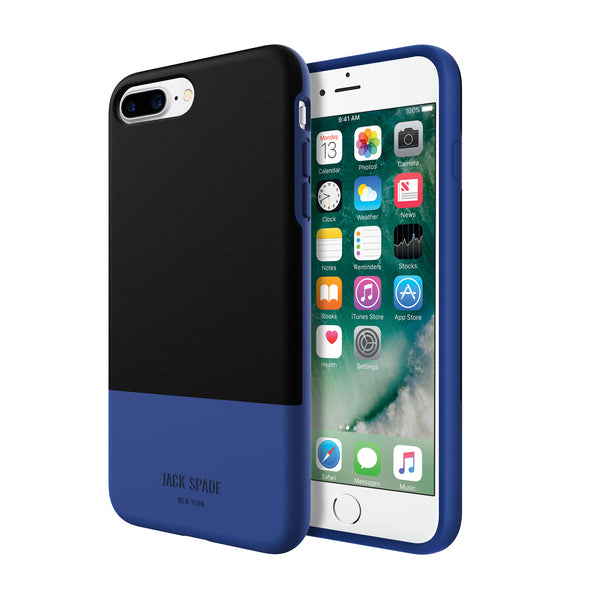 buy Jack Spade Color-Block Case for iPhone 8 Plus/7 Plus - Black/Blue australia