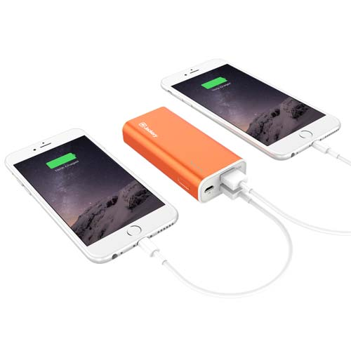 Shop Australia stock Jackery FORCE 115 5200mAH Portable Battery Dual USB Output 5V/2.1A - Orange with free shipping online. Shop Jackery collections with afterpay Australia Stock