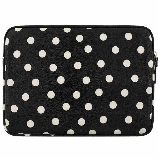 buy kate spade new york printed sleeve for new surface pro /pro 4/pro 3 - deco dot black/cream australia