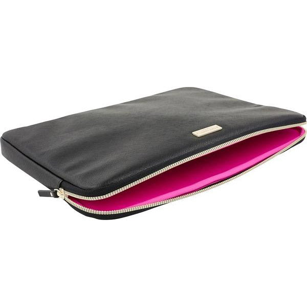 hot sale online ad825 a49d6 KATE SPADE NEW YORK SAFFIANO LAPTOP SLEEVE FOR MACBOOK 13 INCH - BLACK