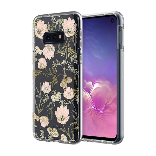 Shop Australia stock KATE SPADE NEW YORK HARDSHELL CLEAR CASE FOR GALAXY S10E (5.8-INCH) - BLOSSOM PINK FLORAL with free shipping online. Shop Kate Spade New York collections with afterpay