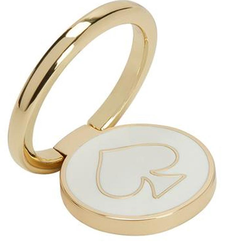 Incipio Kate Spade New York Stability Ring Gold/white Enamel Australia Stock