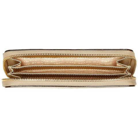 Kate Spade Wristlet Zip Wallet Case for Most Smartphones - Saffiano Gold