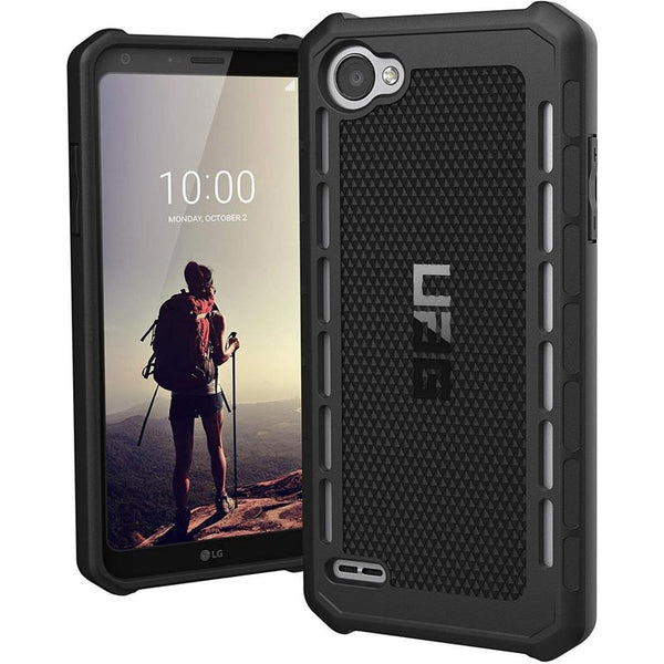 UAG OUTBACK RUGGED CASE FOR LG Q6/Q6 PLUS - BLACK