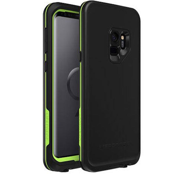 buy online fre waterproof case for samsung galaxy s9 black colour