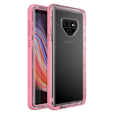 pink clear case for samsung galaxy note 9