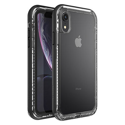 pretty nice 13d2b d0034 LIFEPROOF NEXT SERIES RUGGED CASE FOR iPHONE XR - BLACK CRYSTAL