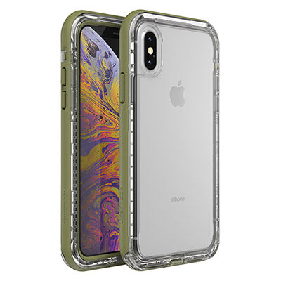 green clear case for iphone x iphone xs. buy online local stock australia