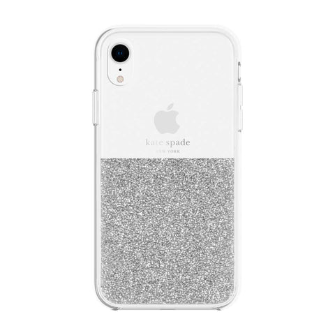 Shop Australia stock KATE SPADE NEW YORK HALF CLEAR CRYSTAL CASE FOR IPHONE XR - SILVER with free shipping online. Shop Kate Spade New York collections with afterpay