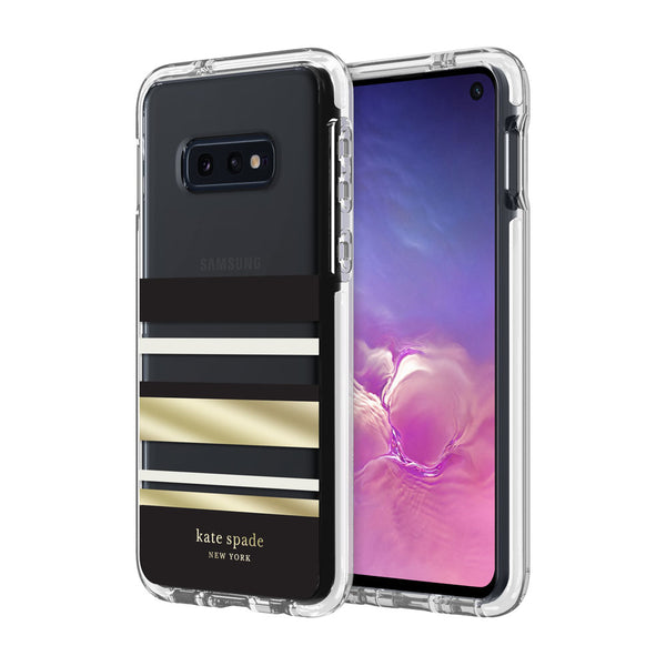 Shop Australia stock KATE SPADE NEW YORK HARDSHELL CLEAR CASE FOR GALAXY S10E (5.8-INCH) - PARK STRIPE BLACK with free shipping online. Shop Kate Spade New York collections with afterpay