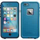 Buy genuine and original LifeProof Fre WaterProof case for iPhone 6S/6 - Banzai Blue. Australia wide free shipping Express.