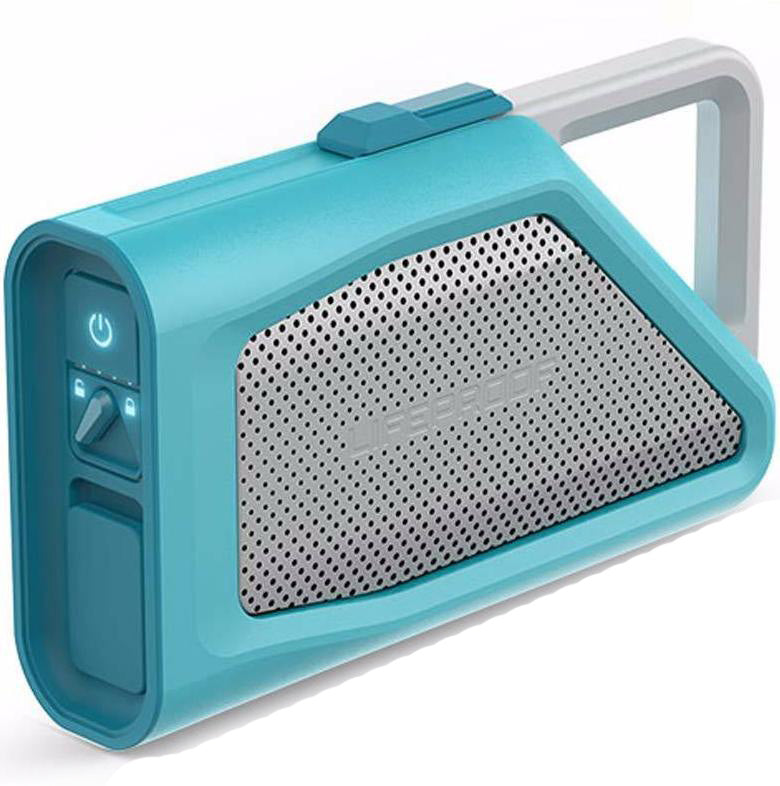 store to buy online Lifeproof Aquaphonics Aq9 Portable Bluetooth Waterproof Speaker - Clear Water free shipping australia wide Australia Stock