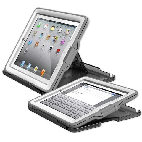 Lifeproof Nuud Waterproof Case for iPad 4/3/2 - White/ Grey