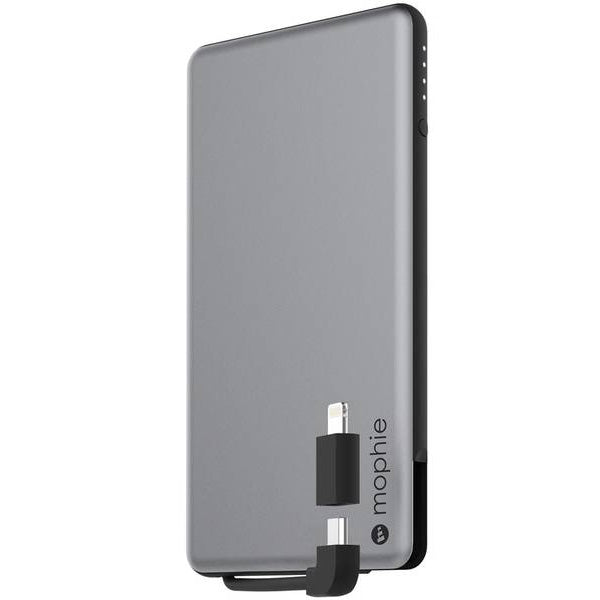 Authorized distributor to shop and buy genuine Mophie Powerstation Plus Mini 4000 Mah External Power Bank With Built In Cables - Space Gray. Trusted official online store Syntricate offer free express shipping Australia wide.
