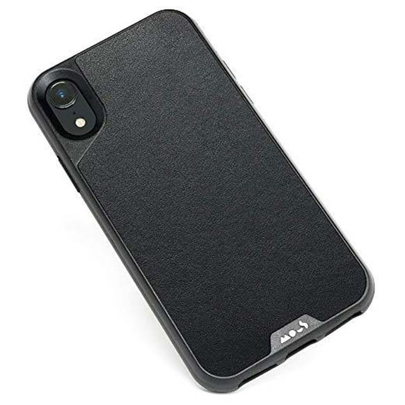 info for 2de50 aa029 MOUS LIMITLESS 2.0 AIROSHOCK PROTECTIVE CASE FOR IPHONE XR - BLACK LEATHER