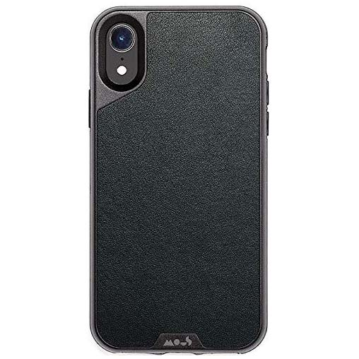 shop black leather case for iphone xr from mous australia with free express Australia shipping & local warranty