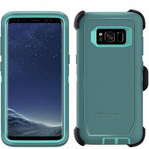 OTTERBOX DEFENDER RUGGED CASE FOR GALAXY S8+ (6.2 INCH) - AQUA MINT GREEN