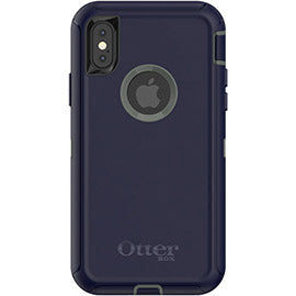 OTTERBOX DEFENDER SCREENLESS EDITION RUGGED CASE FOR  IPHONE XS/X - DARK LAKE Australia Stock