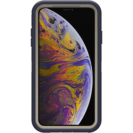 more photos 409a4 00652 OTTERBOX DEFENDER SCREENLESS EDITION RUGGED CASE FOR IPHONE XS MAX - DARK  LAKE