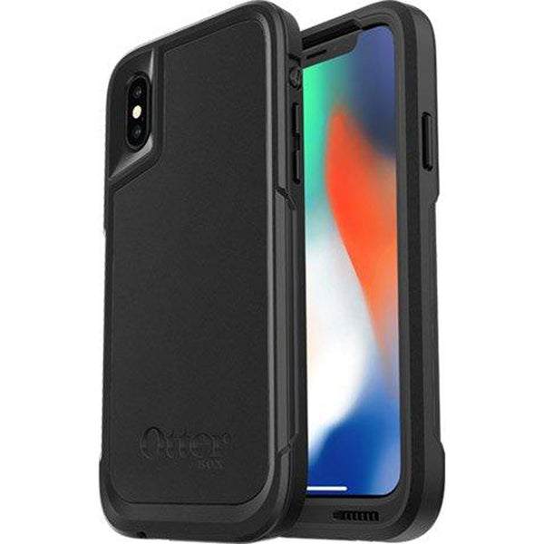black rugged case for iphone xs from otterbox. buy with afterpay payment & return policy