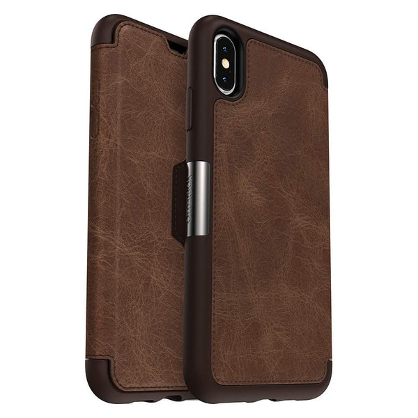folio leather case for iphone xs max from otterbox australia. buy online with afterpay and free shipping