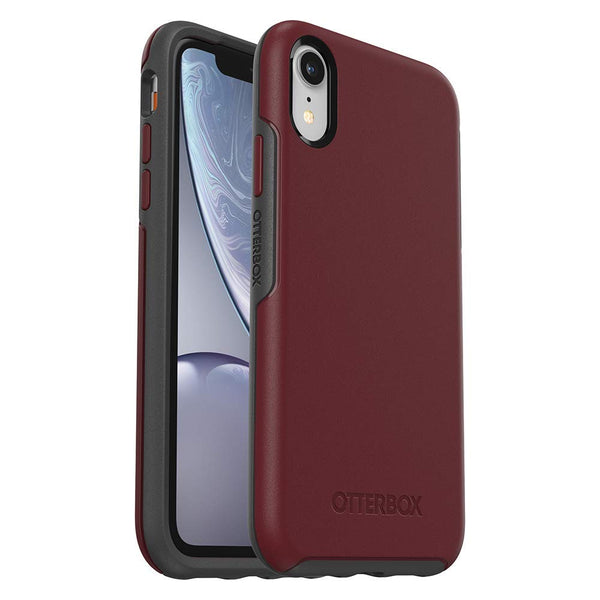 red case for iphone xr with stylish design