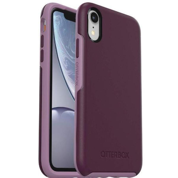 stylish case for iphone xr case violet purple colour case from otterbox australia.