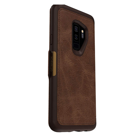 brown folio case from otterbox for samsung galaxy s9 plus