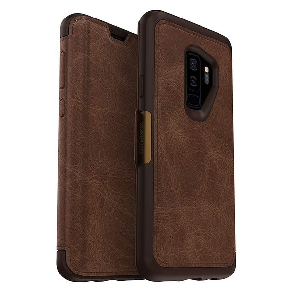 leather case for samsung galaxy s9 plus from otterbox
