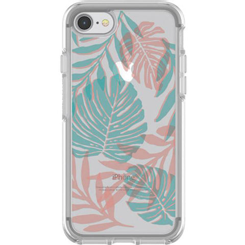 OTTERBOX SYMMETRY CLEAR GRAPHICS CASE FOR iPHONE 8/7 -EASY BREEZY