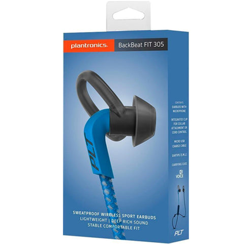 Shop Australia stock PLANTRONICS BACKBEAT FIT 305 WIRELESS SWEATPROOF SPORT EARBUDS - DARK BLUE/BLUE with free shipping online. Shop Plantronics collections with afterpay