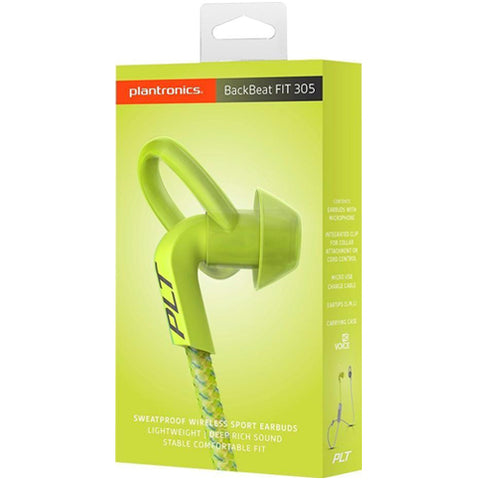 Shop Australia stock PLANTRONICS BACKBEAT FIT 305 WIRELESS SWEATPROOF SPORT EARBUDS - LIME/GRAY with free shipping online. Shop Plantronics collections with afterpay