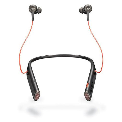 buy new PLANTRONICS VOYAGER 6200 UC BLUETOOTH ANC NECKBAND HEADSET W/EARBUDS - BLACK with afterpay