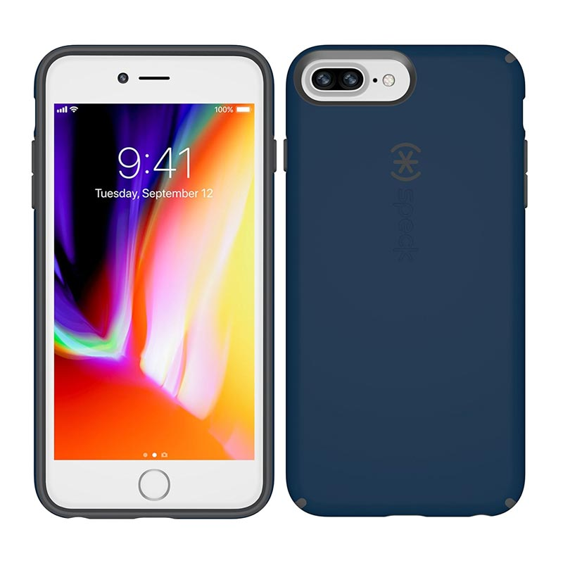 official photos ee7c4 a541a SPECK CANDYSHELL CASE FOR IPHONE 8 PLUS/7 PLUS/6S PLUS - DEEP SEA BLUE/GREY