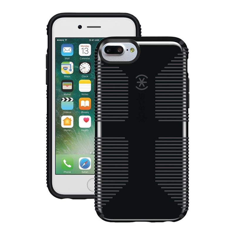 buy online 2d521 819f5 SPECK CANDYSHELL GRIP CASE FOR IPHONE 8 PLUS/7 PLUS - BLACK/GREY