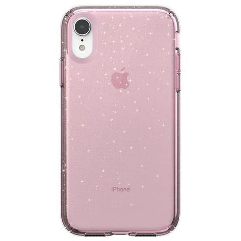 pink clear case with glitter form speck australia. shop online and get free shipping