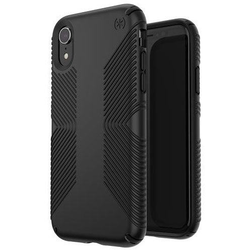 drop proof case black colour for iphone xr from speck australia