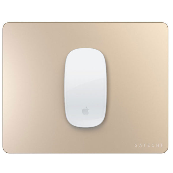 Satechi Aluminium Mouse Pad With Non-slip Rubber Base Gold Colour